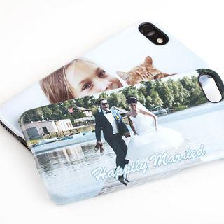 Coque iphone personnalisée avec photo mariage