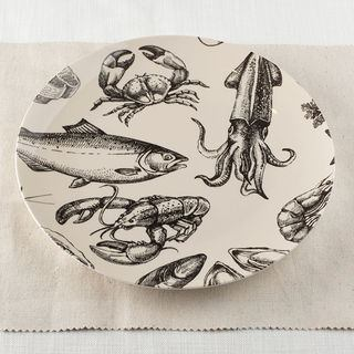custom printed plate for serving