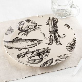 custom printed china plate