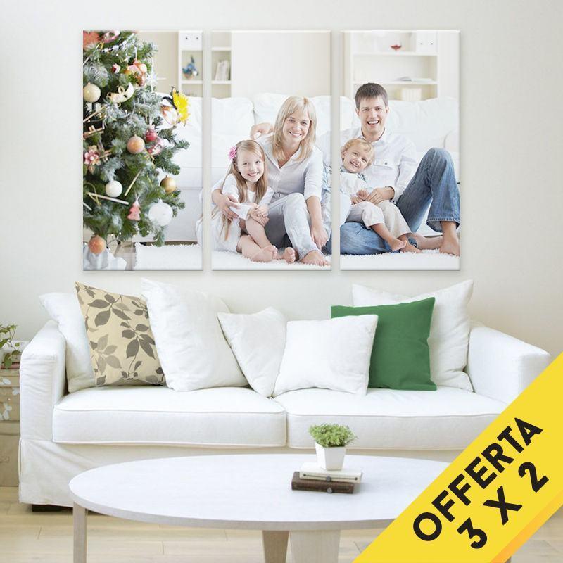stampa foto su tela trittica