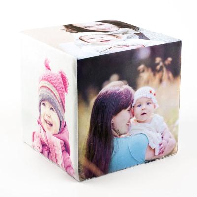 cubo de fotos de bebes y niños