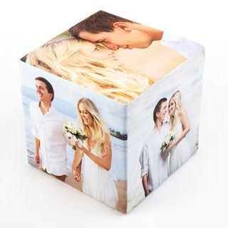Cube photo comme cadeau de mariage
