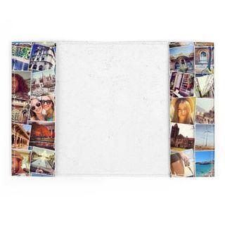 custodia passaporto personalizzata con foto