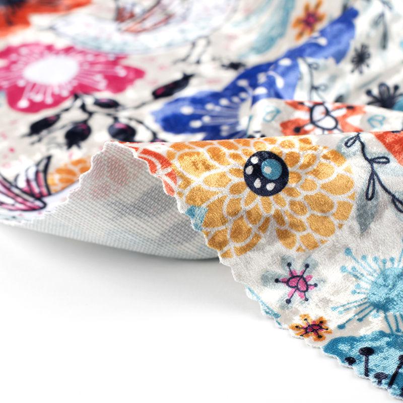 tissu velours personnaliser impression sur tissu. Black Bedroom Furniture Sets. Home Design Ideas