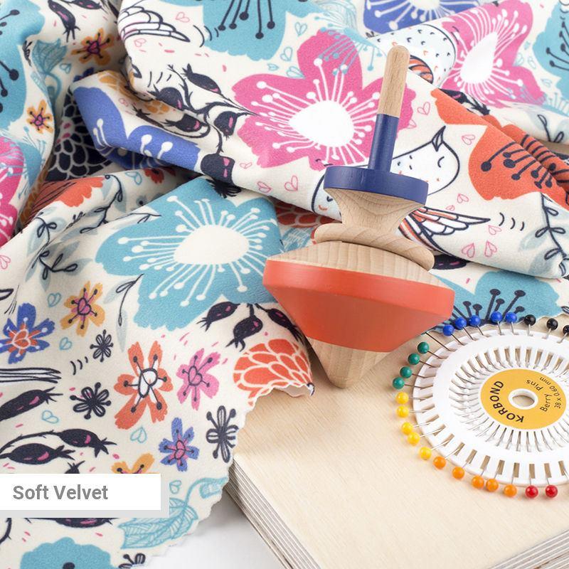 Printed Velvet Fabric Uk Velvety Fabrics For Upholstery