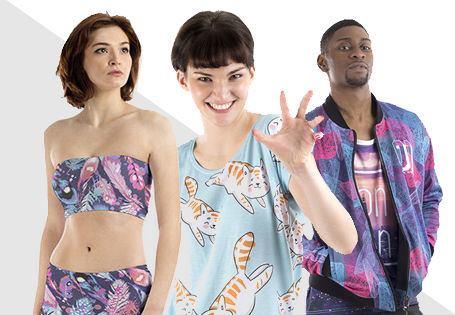 foto abbigliamento personalizzato
