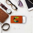 personalised business card holder professional