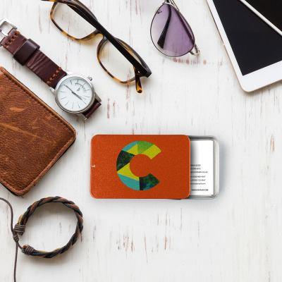 Porte-cartes de visite personnalisé