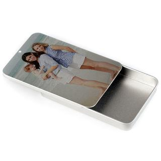 business card box custom photo