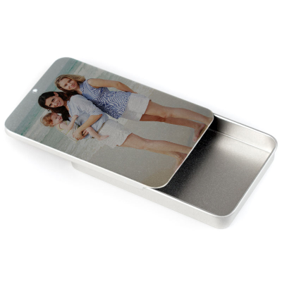 pill or vitamin box printed with your photos