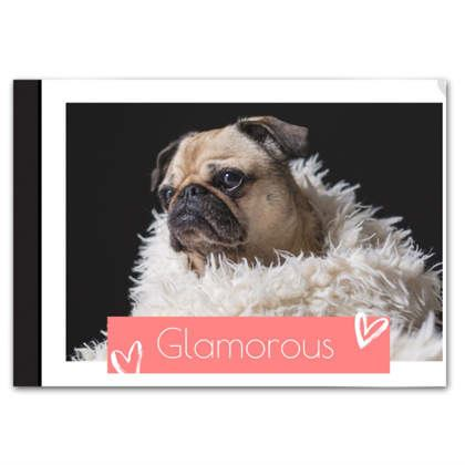 Glamorous Photo Love Book
