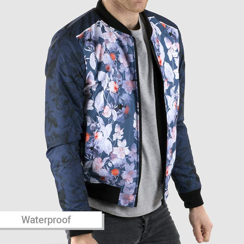 giacca personalizzata  uomo impermeabile