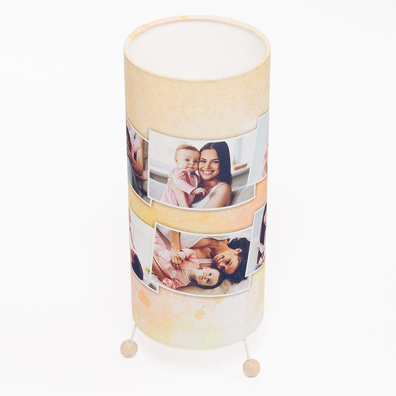 Personalised Standing Lamp on Contemporary Jigsaws 1