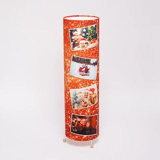 Christmas photo montage lamp design