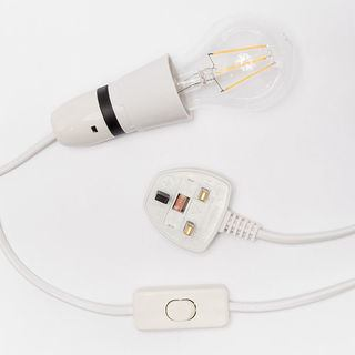 dettaglio lampada personalizzata