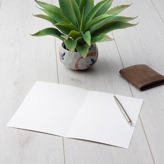 Gift voucher card blank interior