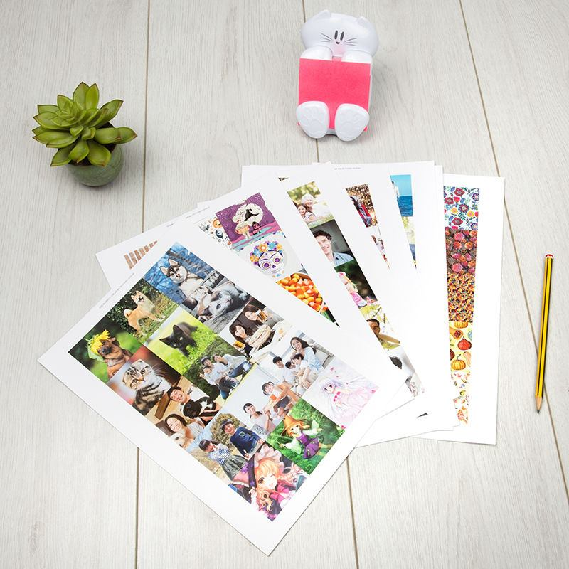 Sticker Printed sheets 15 labels