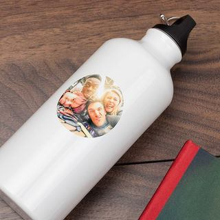 Personalised Sticker Water bottle design