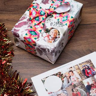 Christmas Sticker present labels