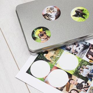 Printed Sticker sheet pencil case image