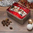 Christmas Tin decoration storage