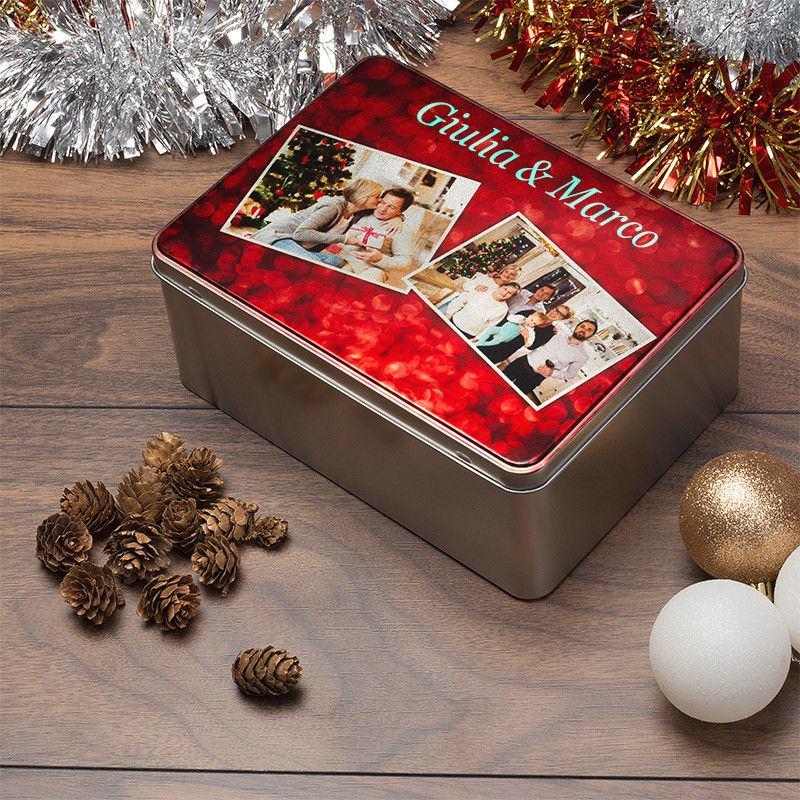 Scatola Latta Biscotti Natale.Scatole Di Latta Per Biscotti Scatole In Metallo Per Biscotti