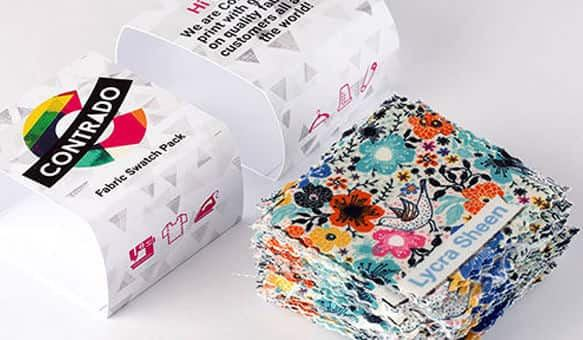 stampa su più di 100 tessuti