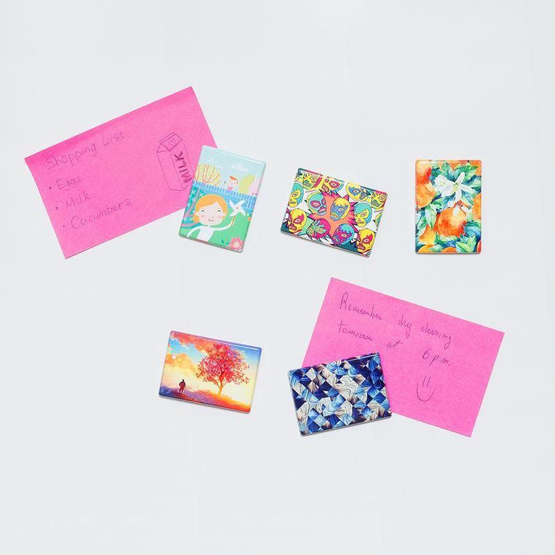 Custom fridge magnets uk bespoke magnet printing custom fridge magnets for notes and memos reheart Gallery