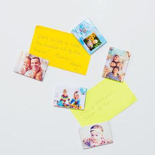 Rectangle custom fridge magnets pack of 5 rectangle