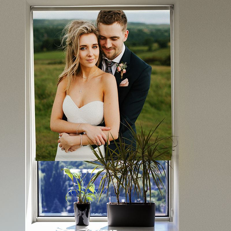 Custom Photo Blinds blackout fabric