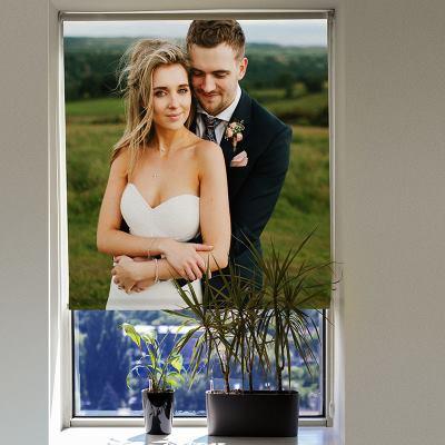 Store personnalisé avec photo couple
