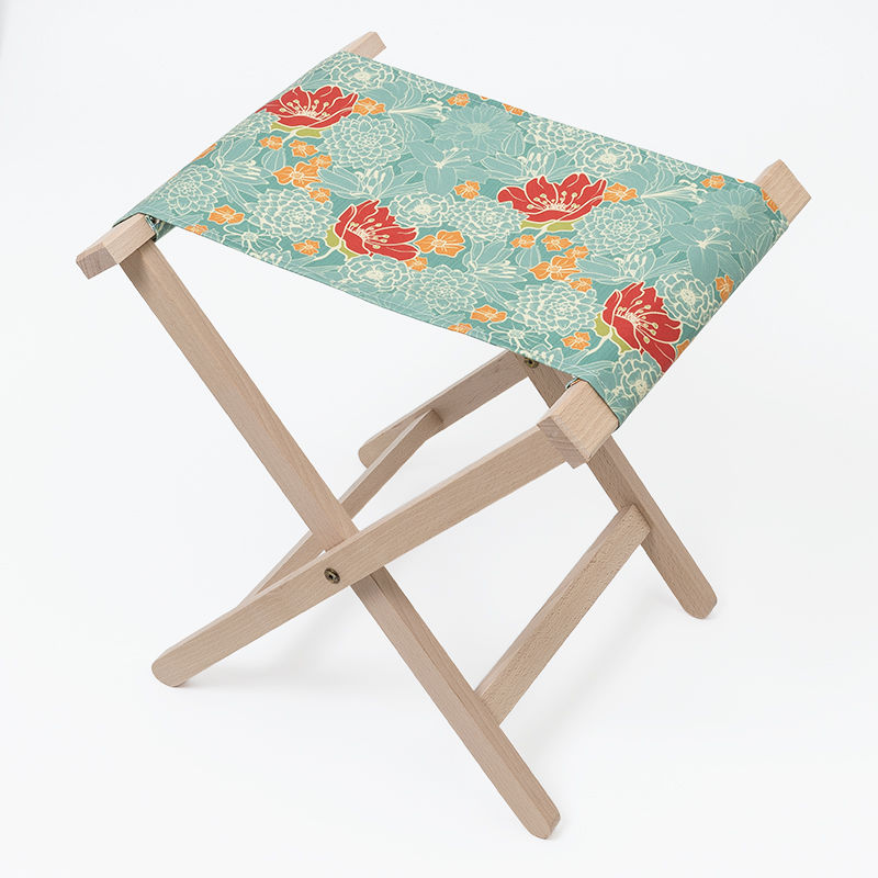 Folding Chairs Printed With Spring Floral Design