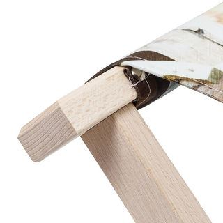 folding wooden stool chair frame