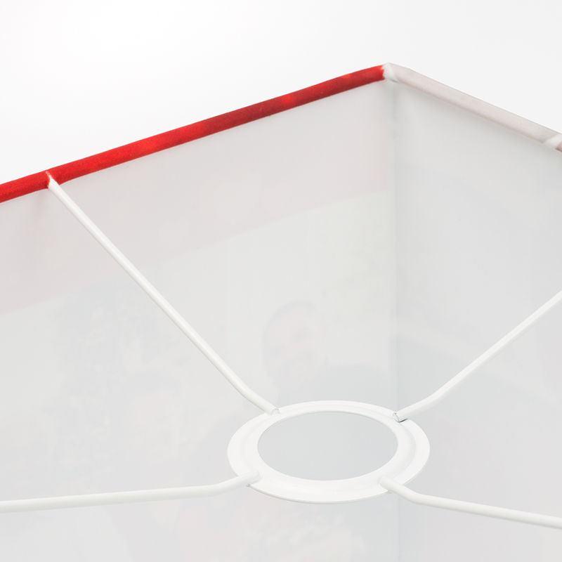 lampe design personnaliser abat jour personnalis carr. Black Bedroom Furniture Sets. Home Design Ideas