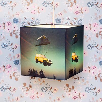 square lampshade