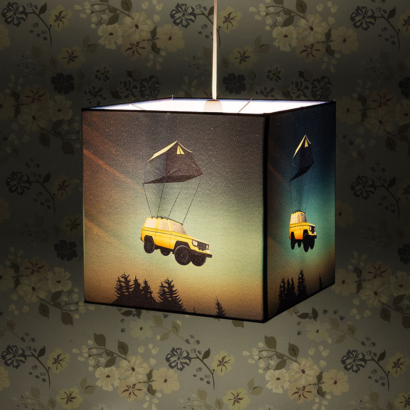 Pendant light shades custom made lampshades custom hanging lights uk custom made square lampshades aloadofball Image collections