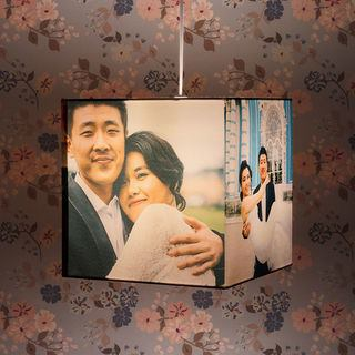 Photo Lamp Shade with light