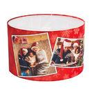 lampshade with photo collage