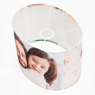 Lámpara ovalada personalizada
