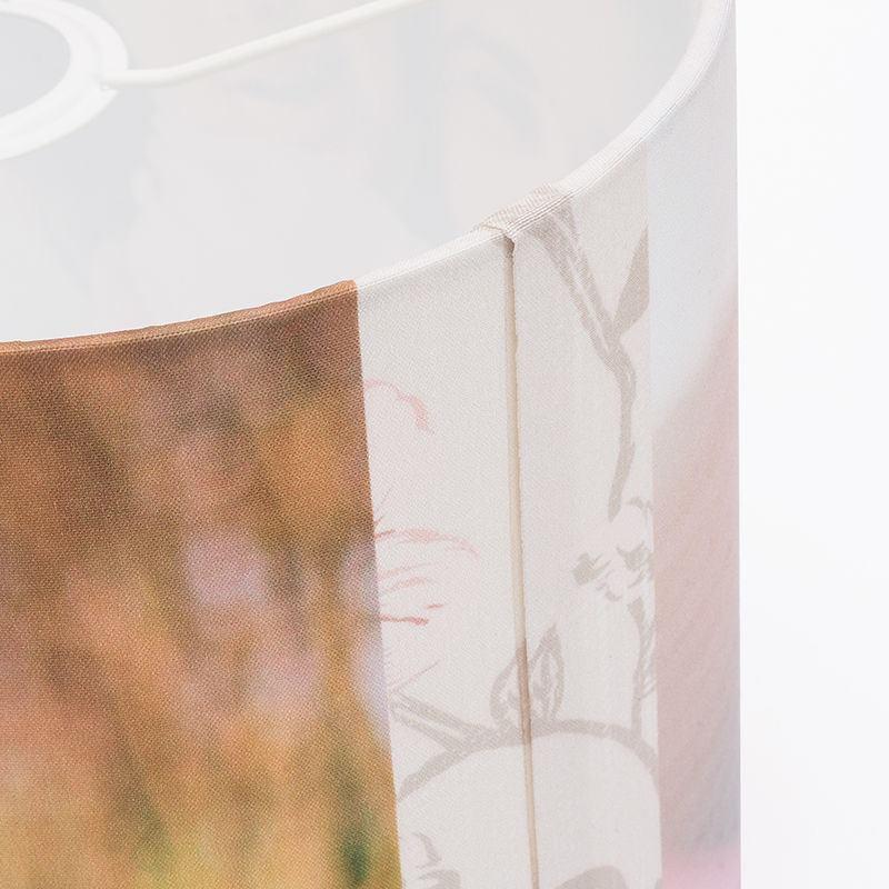 lampenschirm bedrucken foto auf lampenschirm drucken. Black Bedroom Furniture Sets. Home Design Ideas