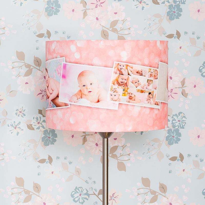personalized lamp shades with light