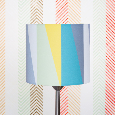 runden lampenschirm bedrucken