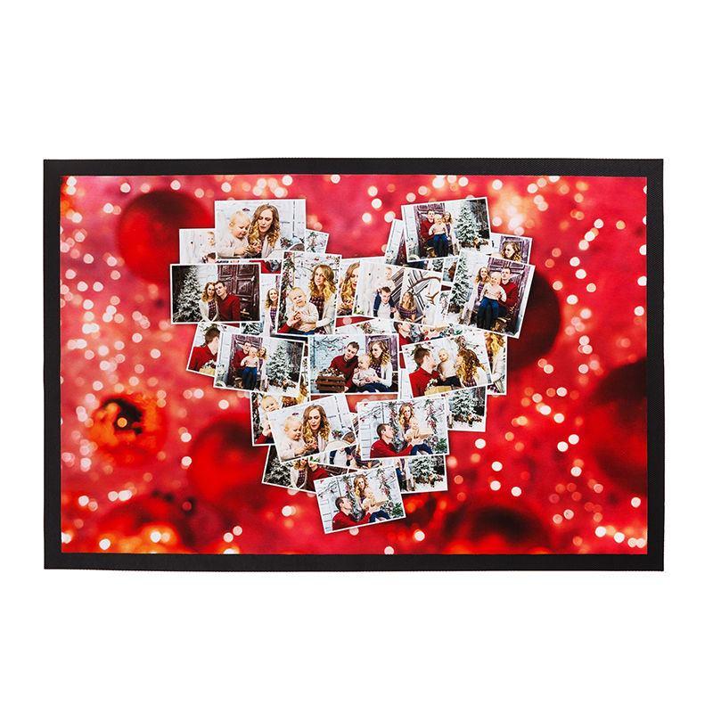 felpudos personalizados con foto collage