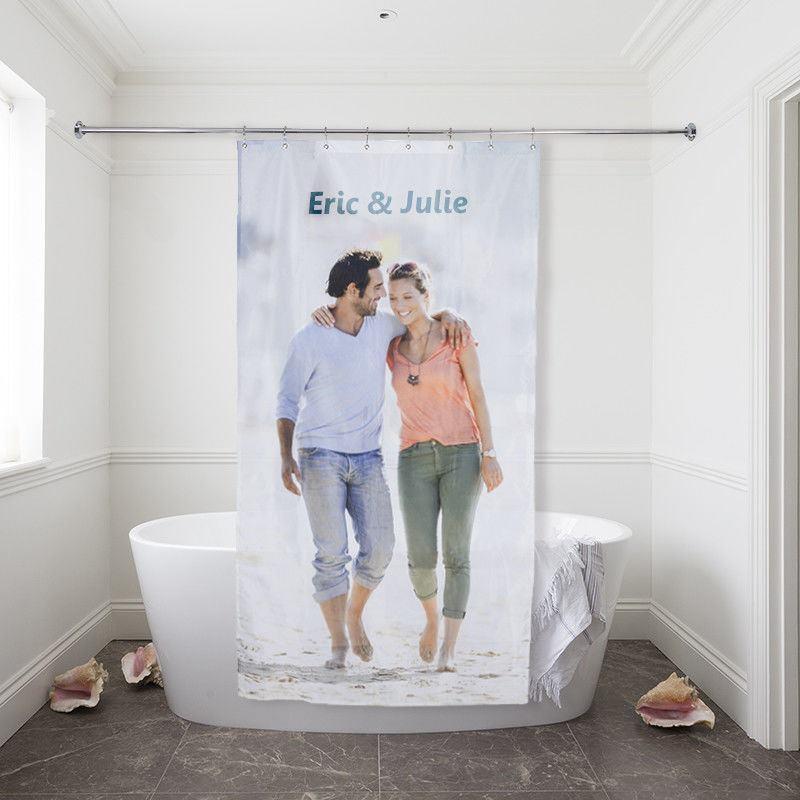 rideau de douche personnalis impression haute d finition. Black Bedroom Furniture Sets. Home Design Ideas