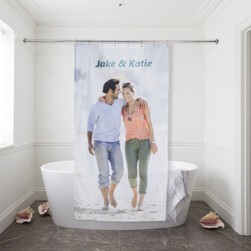 ... Shower Curtain Couple Small Size ...