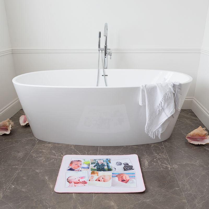 Custom Bath Mats Printing Design Your Own Photo Bath Mat