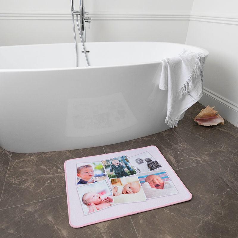 Tappetini da bagno personalizzati tappeti da bagno con foto - Tappetini per bagno ...