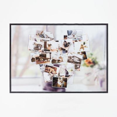 Fußmatte mit Collage