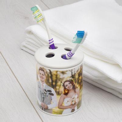 Porte brosses à dents personnalisé