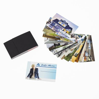 business card booklet